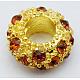 Alloy Rhinestone European Beads(CPDL-H997-4)-1