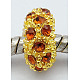 Alloy Rhinestone European Beads(CPDL-H997-4)-2