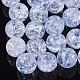 Transparent Crackle Acrylic Beads(X-CACR-N002-01)-1