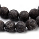 Natural Snowflake Obsidian Beads Strands(G-Q462-72-10mm)-2