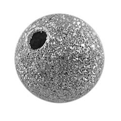 Perles rondes texturées de couleur nickel, laiton, sans nickel, taille: environ 12mm de diamètre, Trou: 1.8mm(X-EC249-NF)