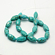 Natural Howlite Beads Strands(X-TURQ-C007-20x10mm-1)-2
