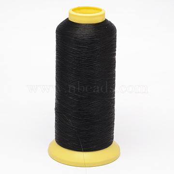 Fishing Thread Nylon Wire, Black, 0.14mm; about 5500yards/roll(NWIR-O005-C-01)