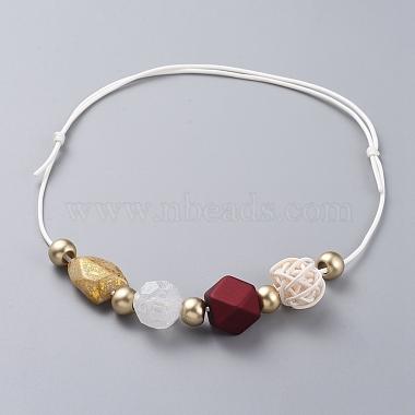Adjustable Bib Necklaces(NJEW-JN02594)-2
