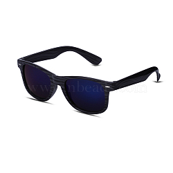 Trendy Sunglasses, Plastic Frames and Resin Lenses, Dark Blue, 14.3x4.8cm(SG-BB22046)