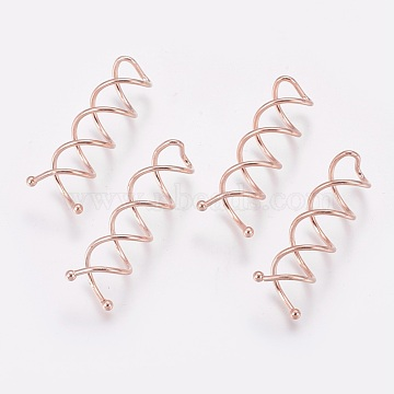 Rose Gold Iron Hair Bobby Pin