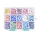 15 Colors Pearlized Plated Handmade Porcelain Cabochons(PORC-JP0001-02-A)-2