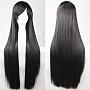 Black High Temperature Fiber Wigs(OHAR-G008-08B)