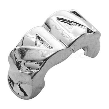 Brass European Style Clasps(X-EC583-10)-2