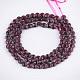 Natural Garnet Beads Strands(G-S354-42A)-2