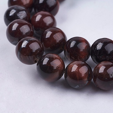 Natural Red Tiger Eye Stone Bead Strands(G-R193-08-8mm)-3
