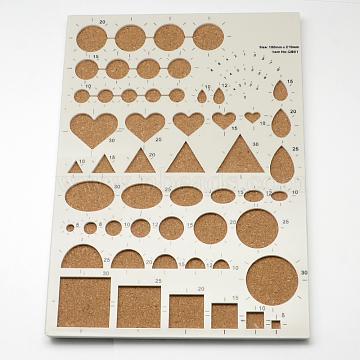 Plastic DIY Paper Quilling Tool, Peru, 21x15x0.8cm(DIY-R023-01)