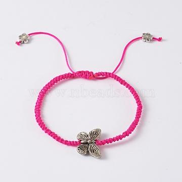 DeepPink Nylon Bracelets