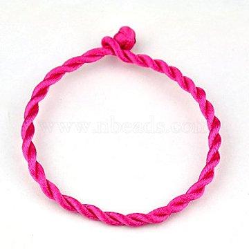 Camellia Nylon Bracelet Making