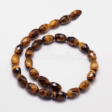 Natural Tiger Eye Beads Strands(G-N0179-02-10x15mm)-2