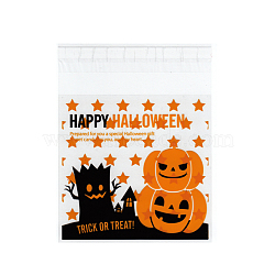 Rectangle OPP Cellophane Bags for Halloween, Colorful, 13.2x9.9cm; Unilateral Thickness: 0.035mm; Inner Measure: 9.7x9.9cm; about 95~100pcs/bag