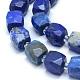 Natural Lapis Lazuli Beads Strands(G-L552D-03B)-2