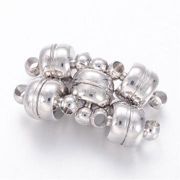 Platinum Oval Brass Clasps