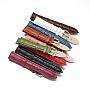 Mixed Color Leather Watch Band(WACH-F017-09)