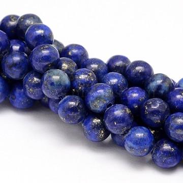 10mm Round Lapis Lazuli Beads