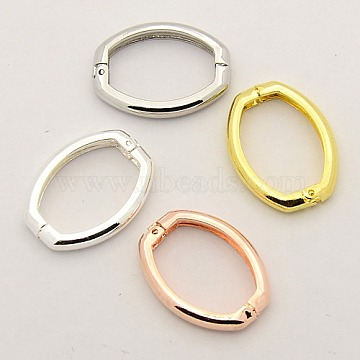 Mixed Color Brass Clasps