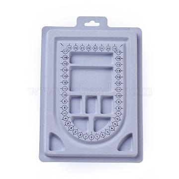 LightGrey Plastic Bead Design Boards