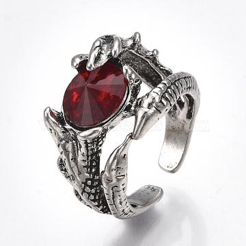 Red Alloy Finger Rings