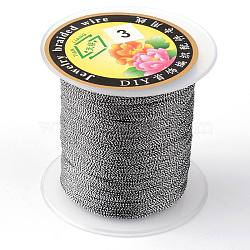 Round Metallic Cord, 9-Ply, Colorful, 0.8mm; about 60m/roll(MCOR-L001-0.8mm-26)
