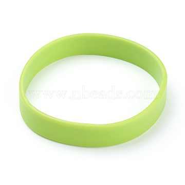 GreenYellow Rubber Bracelets