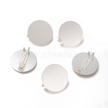 Silver Brass Brooch Base Settings