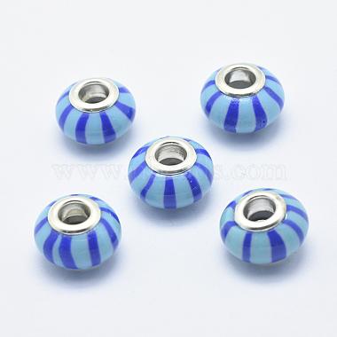 Handmade Polymer Clay European Beads(CLAY-K002-E04)-1