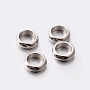 Stainless Steel Color Ring Stainless Steel Spacer Beads(X-STAS-E082-12)