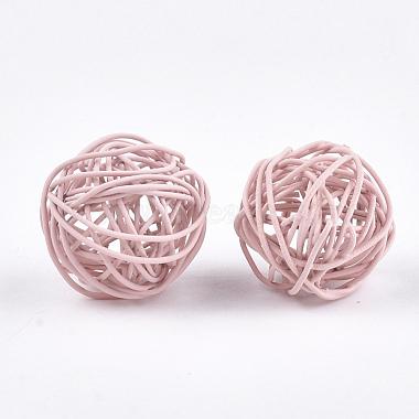 Perles de fil de fer environnementales peintes par pulvérisation(IFIN-T009-10G)-2