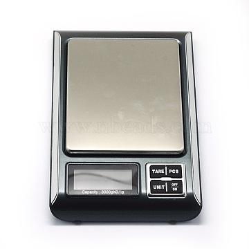 Silver Aluminum Digital Scale