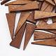Pear Wood Pendants(X-WOOD-T010-02D)-1