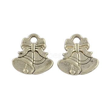 Antique Silver Bell Alloy Charms