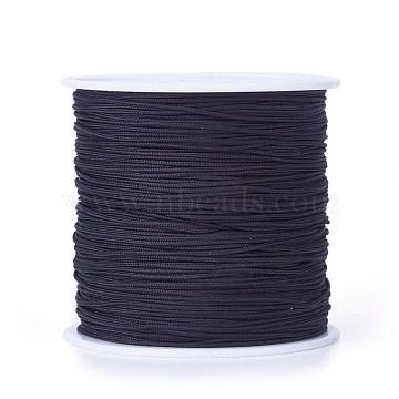 0.8mm Black Nylon Thread & Cord