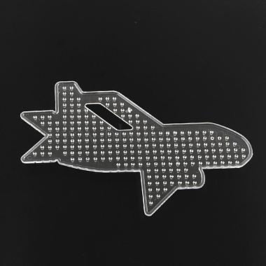Plane/Airliner ABC Plastic Pegboards used for 5x5mm DIY Fuse Beads(DIY-Q009-32)-2