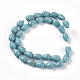 Synthetic Turquoise Beads Strands(G-E456-19-8x12mm)-2