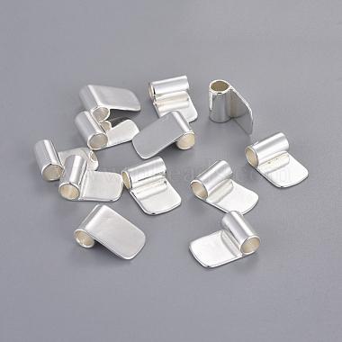 Brass Glue-on Flat Pad Bails(X-KK-D519-B-S)-4