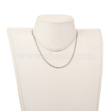 304 Stainless Steel Singapore Chain Necklaces(NJEW-JN02930-01)-4