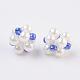 Imitation Pearl and Glass Beads Woven Beads(LAMP-K032-B02)-1