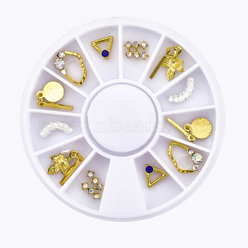 Ivory Mixed Shapes Alloy+Other Material