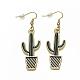 Alloy Enamel Dangle Earrings(EJEW-Q699-16MG-NR)-1