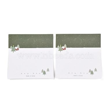 Рождественские тематические бумажные карточки для ювелирных украшений(CDIS-A003-02)-2
