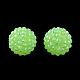 ab-perles de couleur strass de résine(RESI-S315-20x22-13)-1