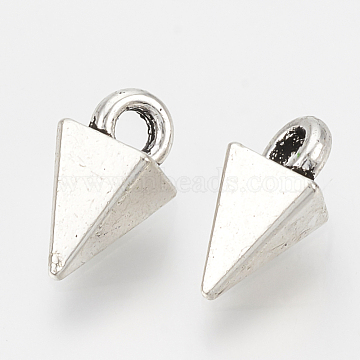 Antique Silver Cone Alloy Charms