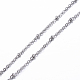 304 Stainless Steel Cable Chain Necklaces(NJEW-F201-01P)-2