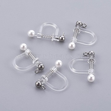 Stainless Steel Color Plastic Earring Components