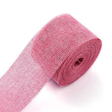 ruban d'emballage en polyester imitation lin(OCOR-G007-01L)-3